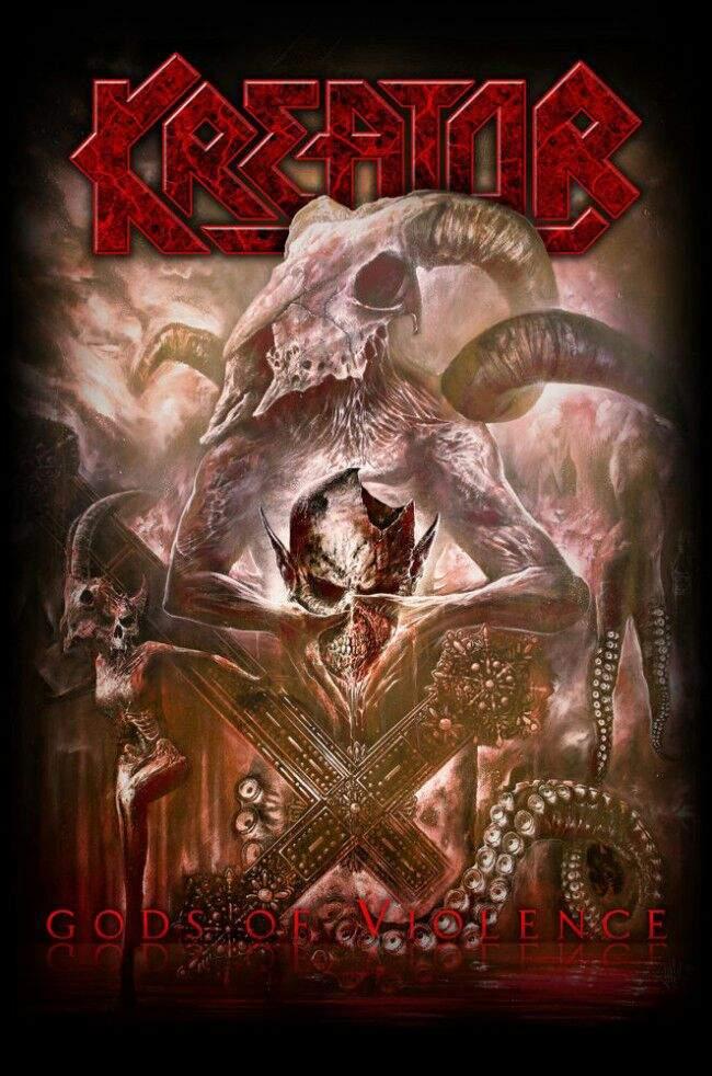 Reseña Kreator Gods Of Violence Metal Amino