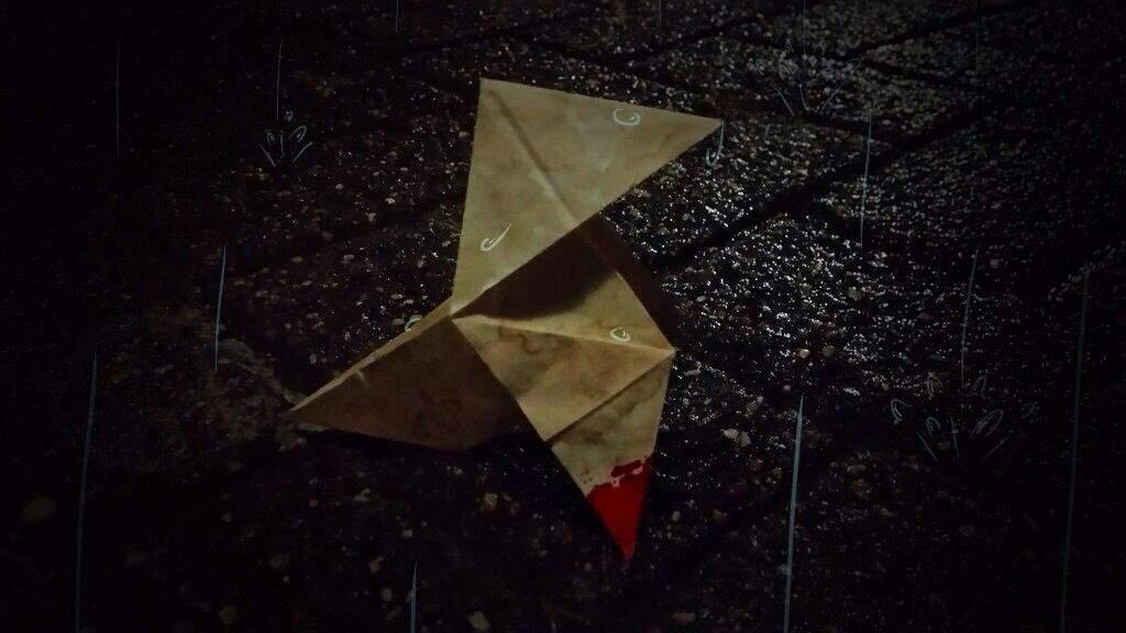 Heavy rain dog origami diagram | 576x1024