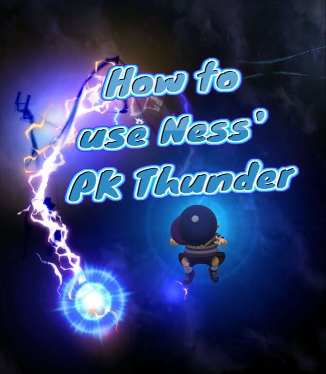How to use Ness' PK Thunder | Smash Amino