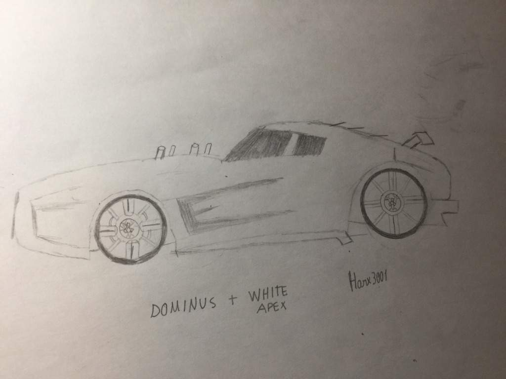 Octane Rocket League Sketch / Trade rocket league items with other players.