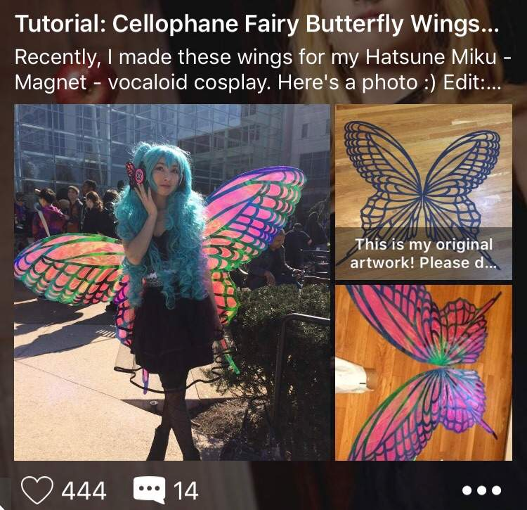 Tutorial: Grant Wings and Invisible Harness | Cosplay Amino