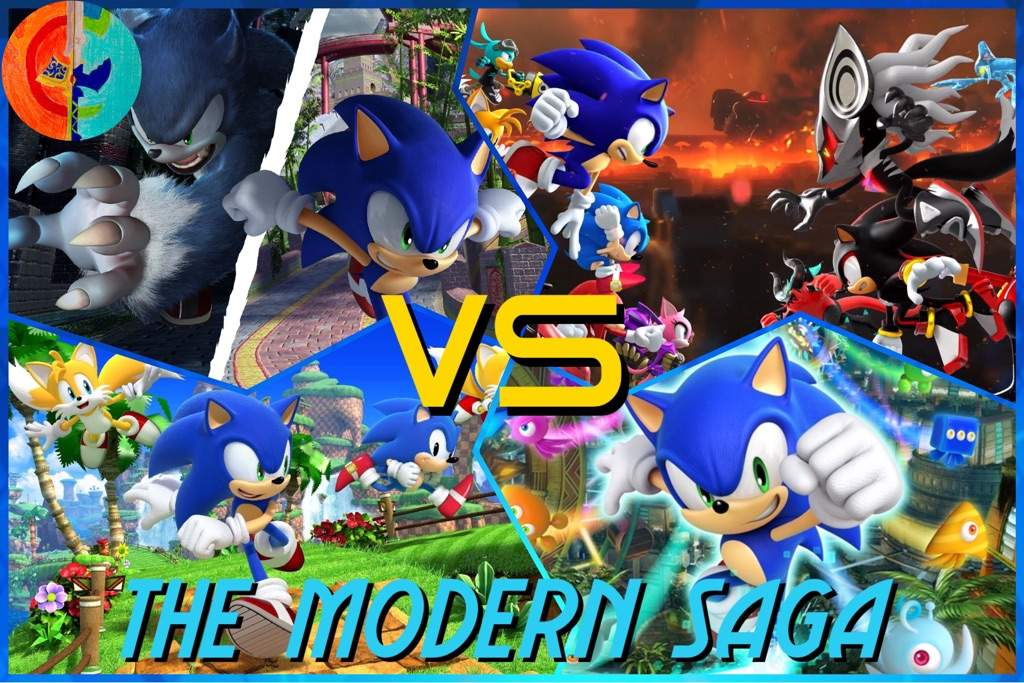 Modern Sonic Unleashed Vs Colors Vs Generations Vs Forces Sonic The Hedgehog Amino
