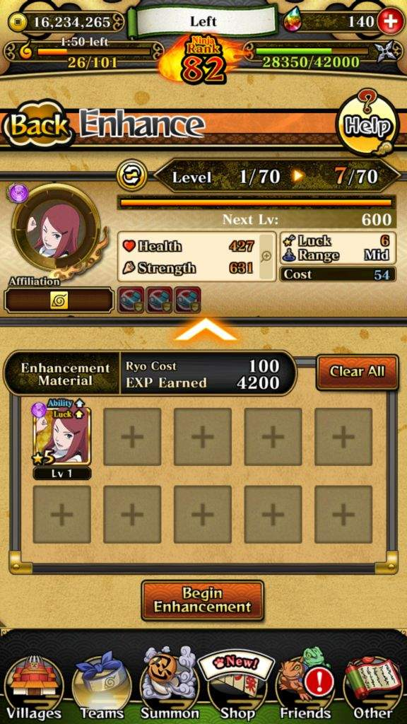 How to 99 luck and Ultimate your characters |  NARUTO