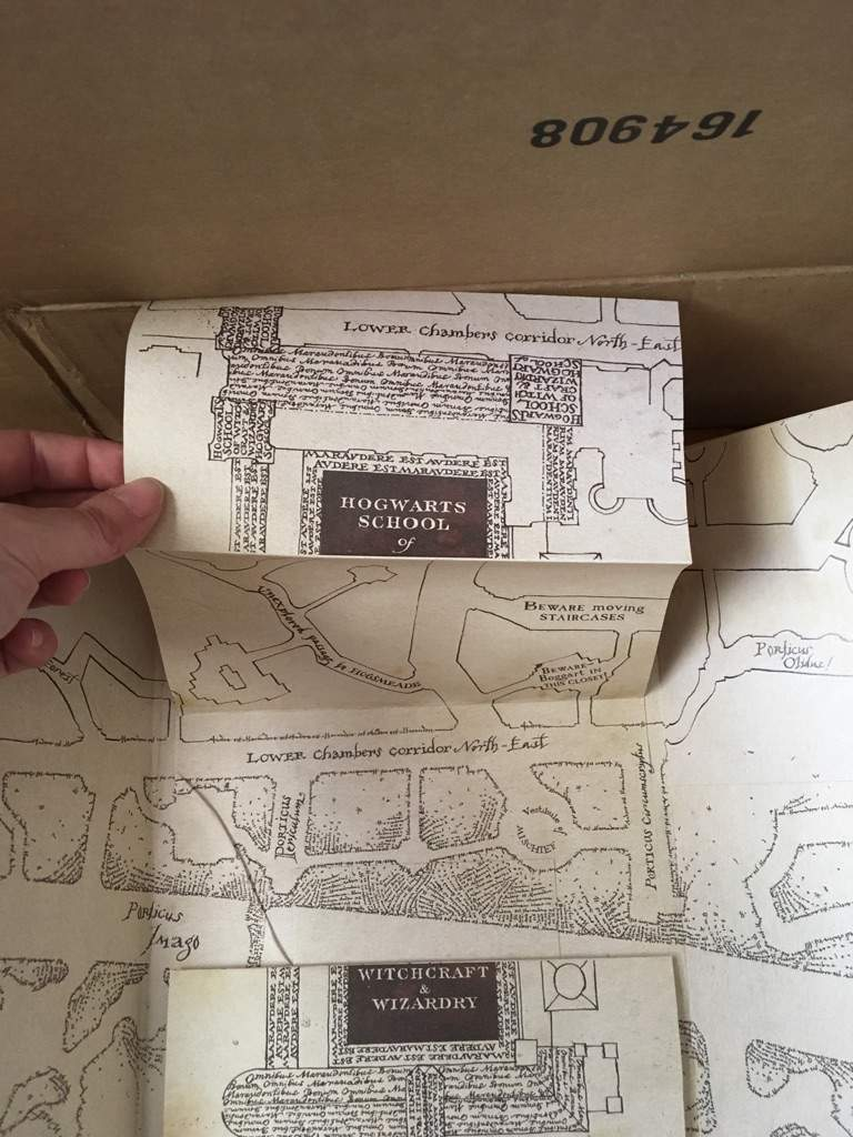 It's just a picture of Harry Potter Marauders Map Printable with regard to pdf