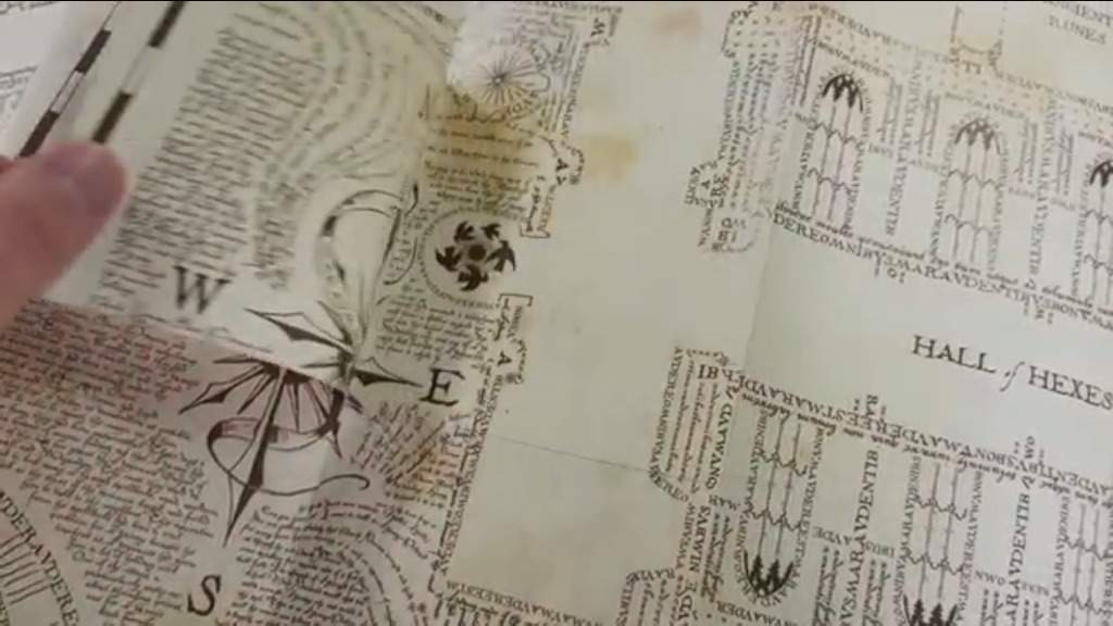 photo relating to Harry Potter Marauders Map Printable named Do-it-yourself Marauders Map!!!! Harry Potter Amino
