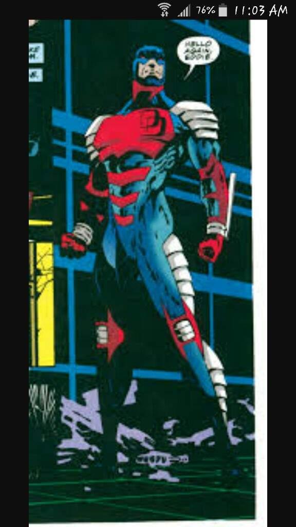 Daredevil 2003 Concept Art Costume
