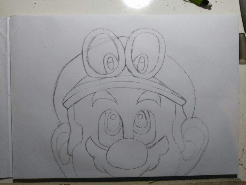 Dibujos De Mario Odyseis Para Imprimir