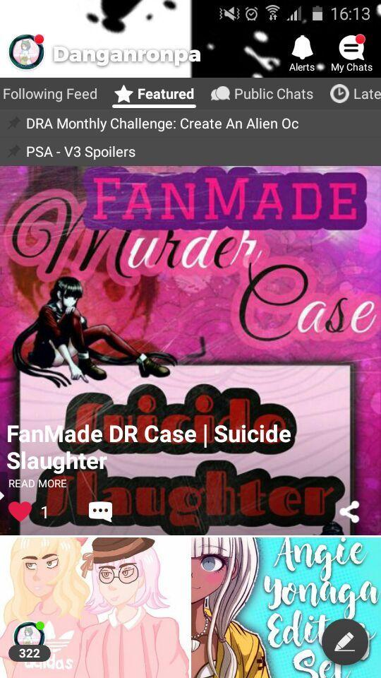 FanMade DR Case | Suicide Slaughter | Danganronpa Amino