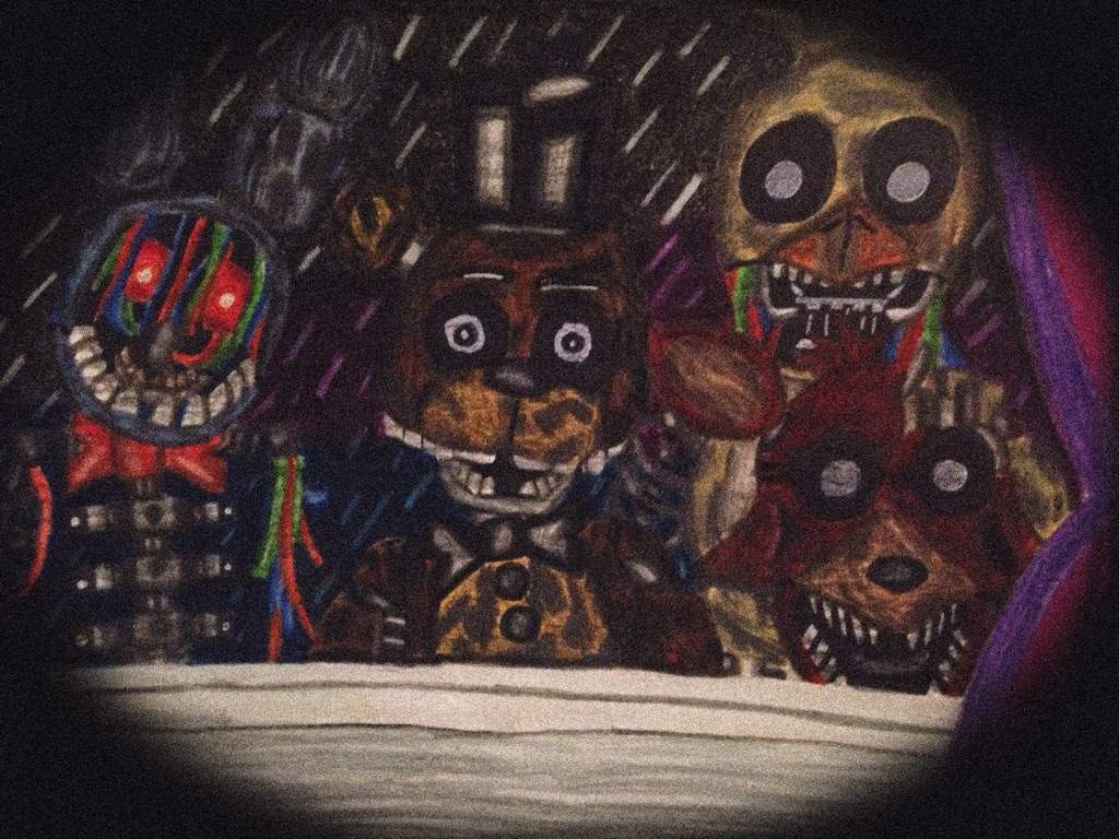 we re here the joy of creation drawing five nights at freddy s