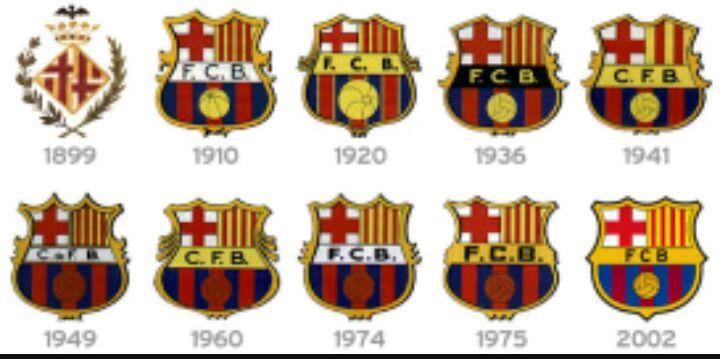 A evolução dos escudos de futebol PT2  946b4b868eeb5