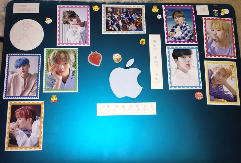 official photos ff197 3d40b I decorated my MacBook case in BTS stickers 💓 | ARMY's Amino