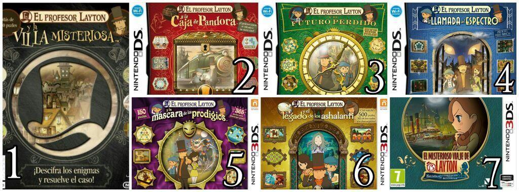 Cronología Orden Jugable Del Profesor Layton Nintendo Amino