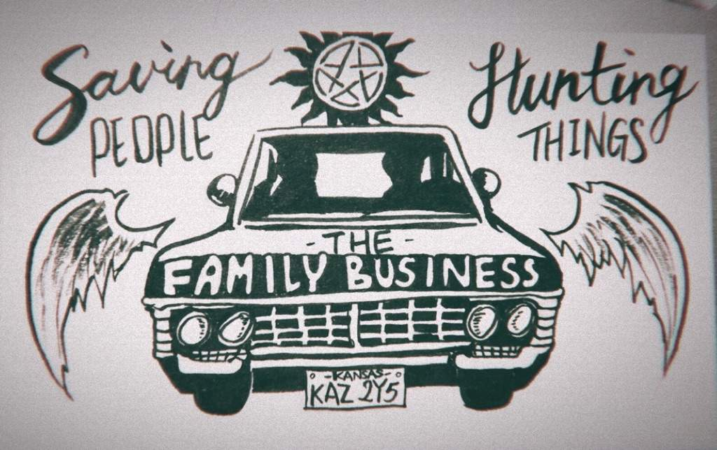 Saving People Hunting Things The Family Business Supernatural Amino