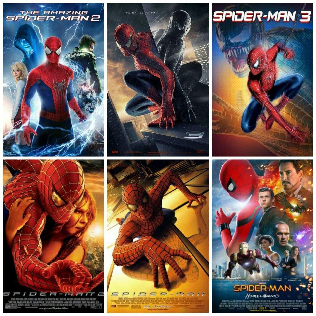 ranking every single spiderman movie | marvel amino