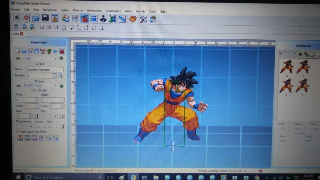 M U G E N Goku Character W I P | DragonBallZ Amino
