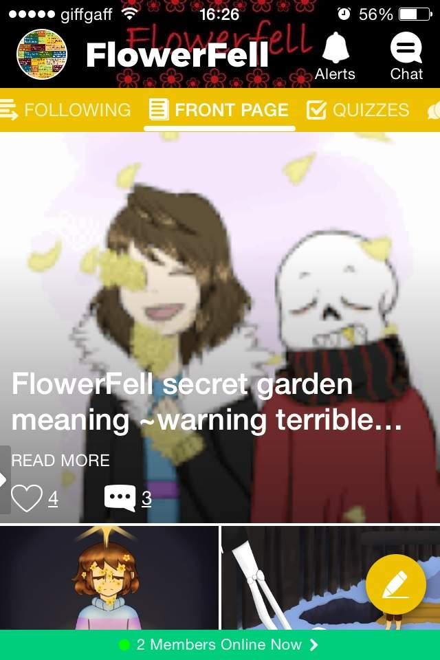 Flowerfell Secret Garden Meaning Warning Terrible Grammar Flowerfell Amino