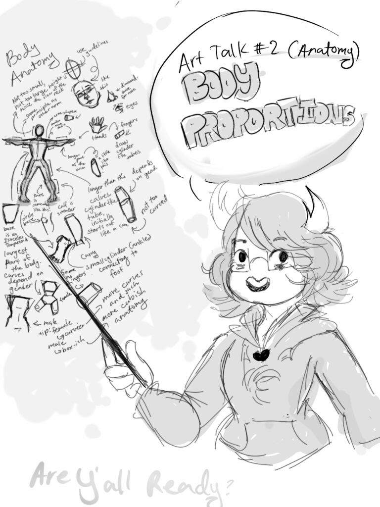 Body Proportions PART 1 (Anatomy) [Art Talk #2] | Homestuck And ...