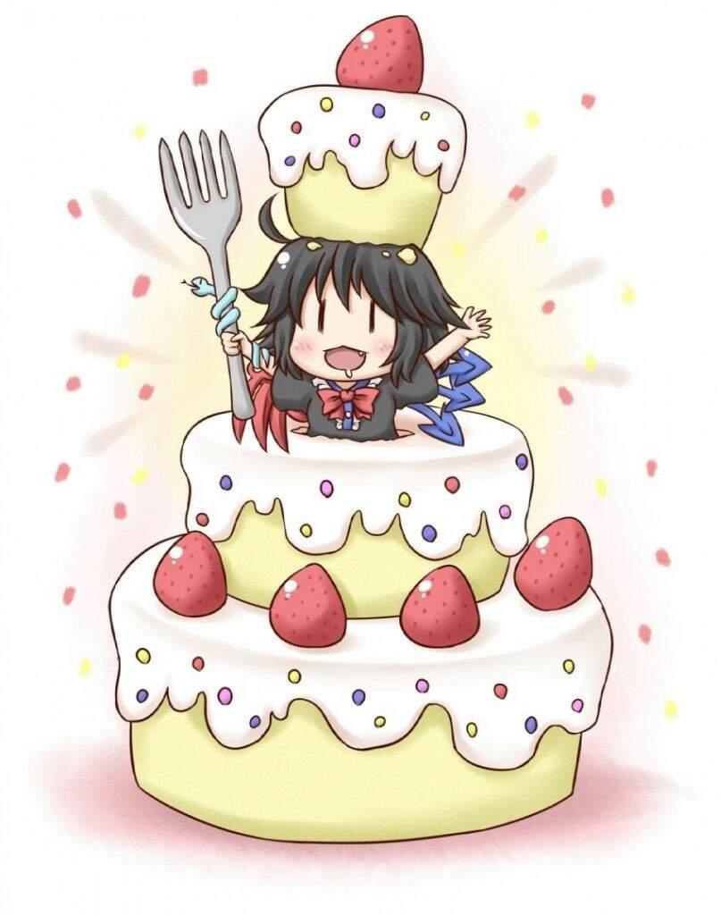 Так хочу, открытка аниме с днем рождения девушке