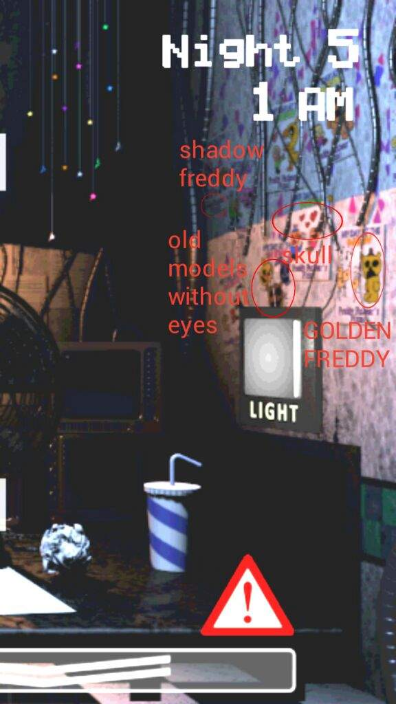 The posters in the office in FNaF 2 | Five Nights At Freddy's Amino
