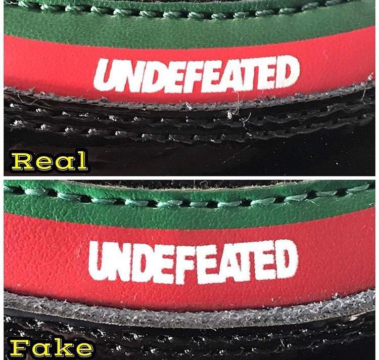 nike air max 97 undefeated nero real vs fake