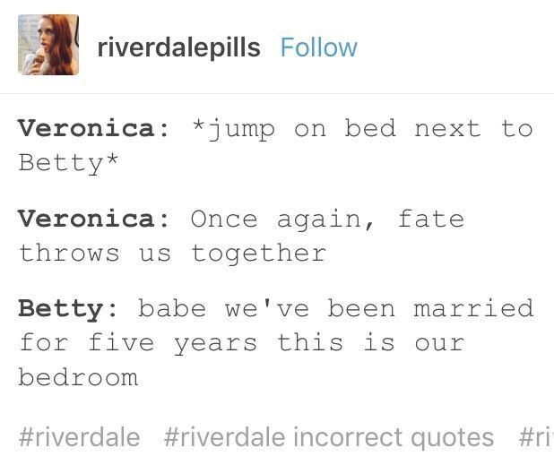 Incorrect Quotes | Riverdale Amino
