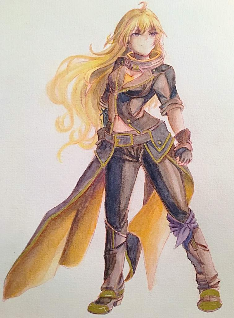 Yang Xiao Long Fan Art Art Amino