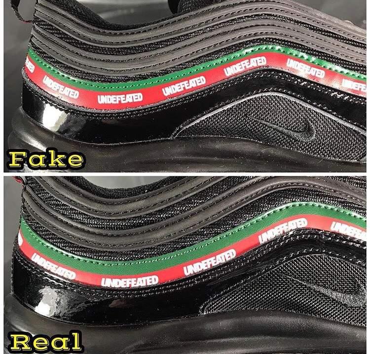 a83014745e7 Real👍🏾 vs Fake👎🏾 | Sneakerheads Amino