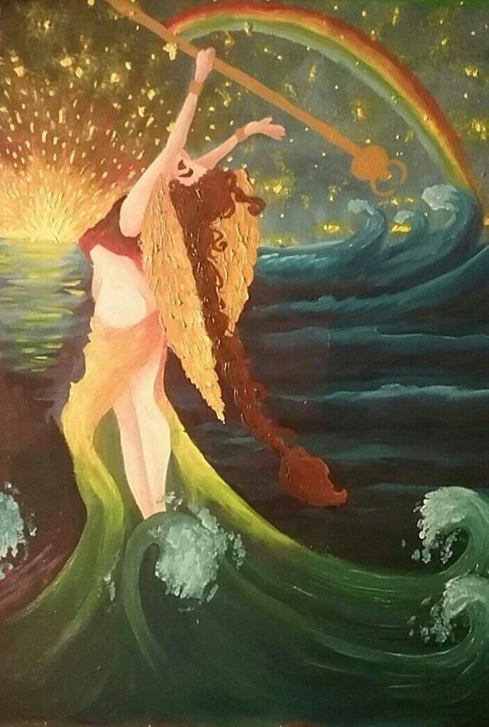 Картинки богини ириды