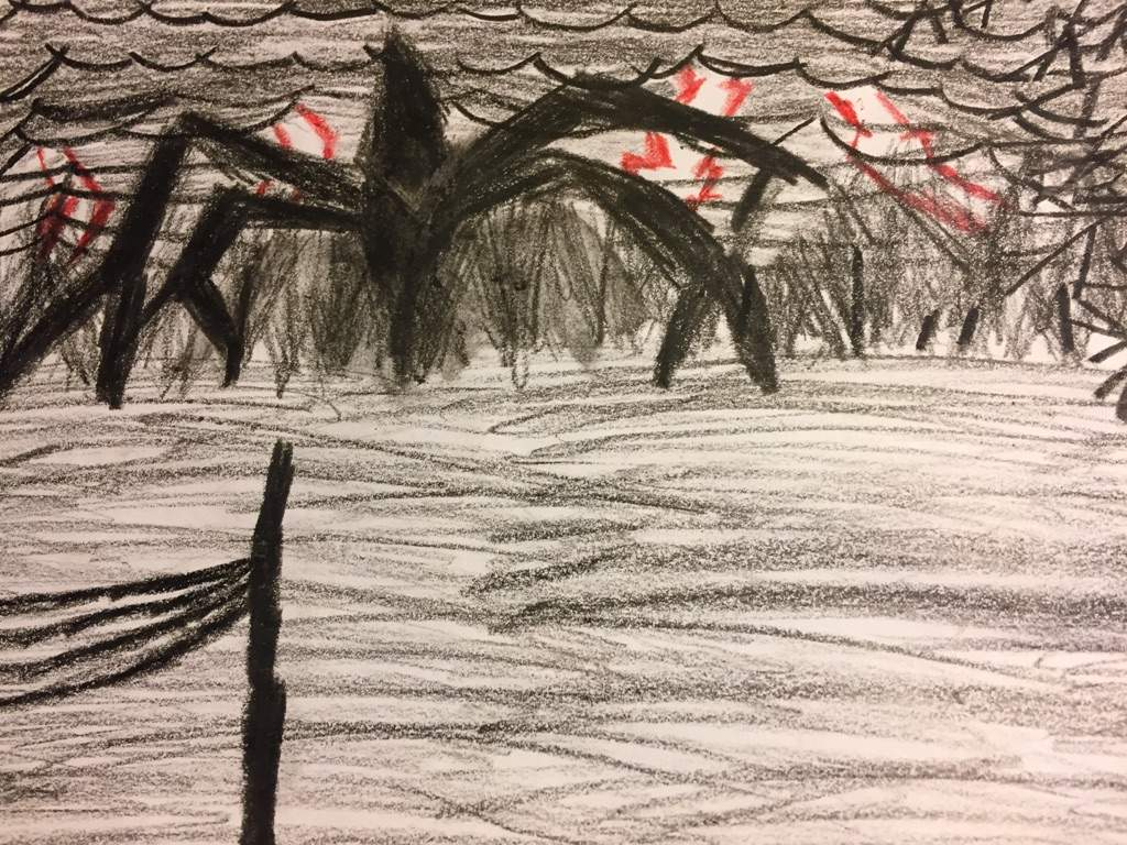 Spoilers The Mind Flayer Drawing Stranger Things Amino