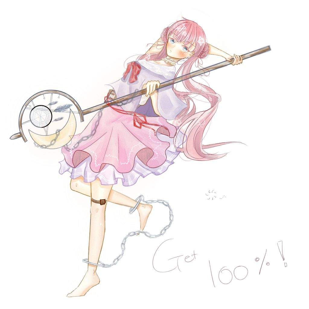 Magical girl?  Anime Art Amino