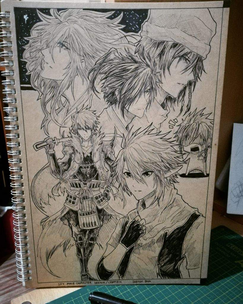 My Original Character Draw On Book Cover Anime Art Amino