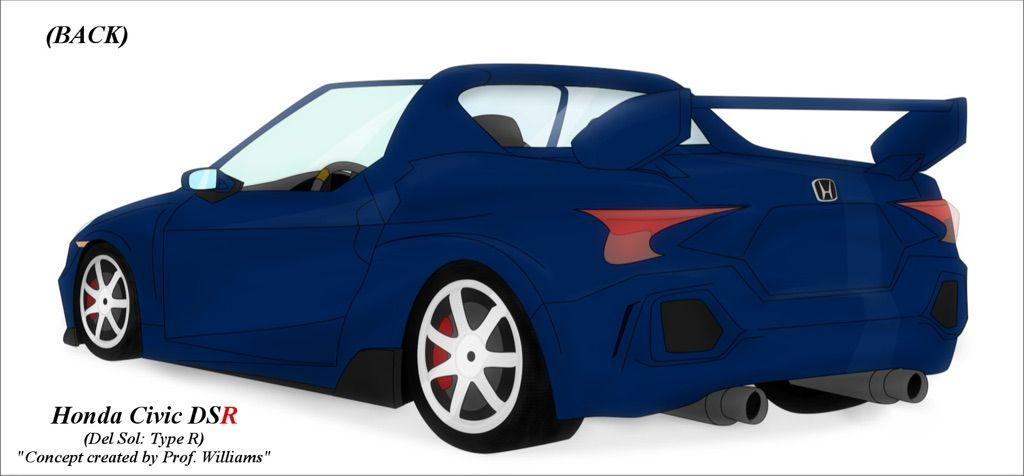 680hp, RWD, Mid-Engine Honda Civic!!! (Honda Civic DSR