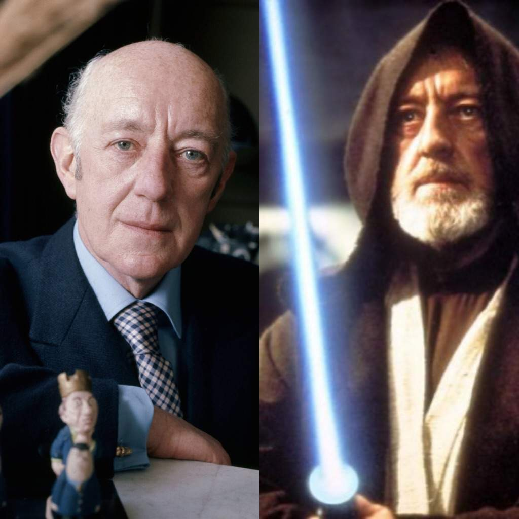 Persevering Alec Guiness In Star Wars And Star Wars First Day Cover Of Ben Obi-wan Kenobi Other Movie Memorabilia
