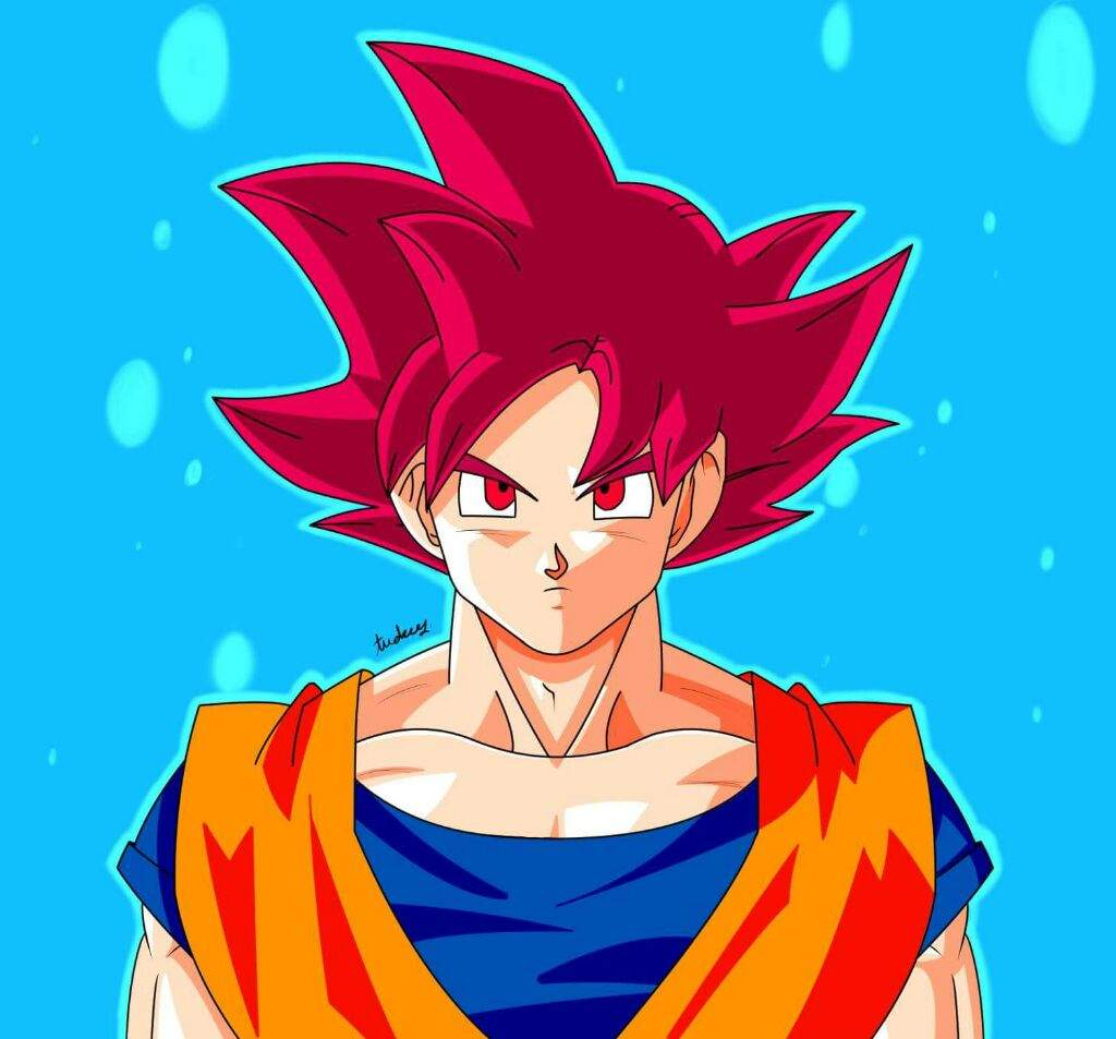 Super Saiyan God Goku ...