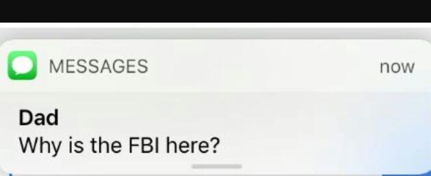 Fbi Text Meme Template