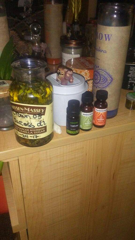 My Crown of Success Oil Recipe | The Witches' Circle Amino