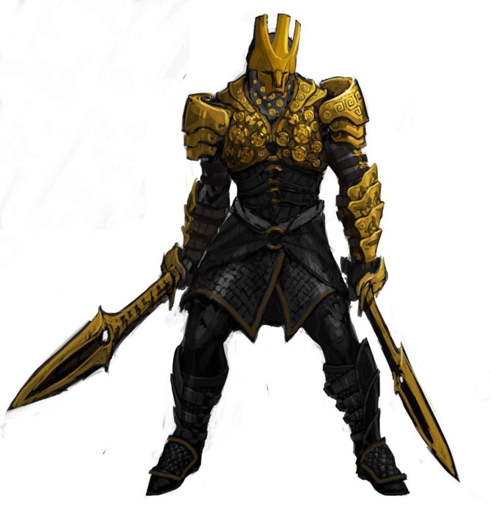 Infinity Blade Characters