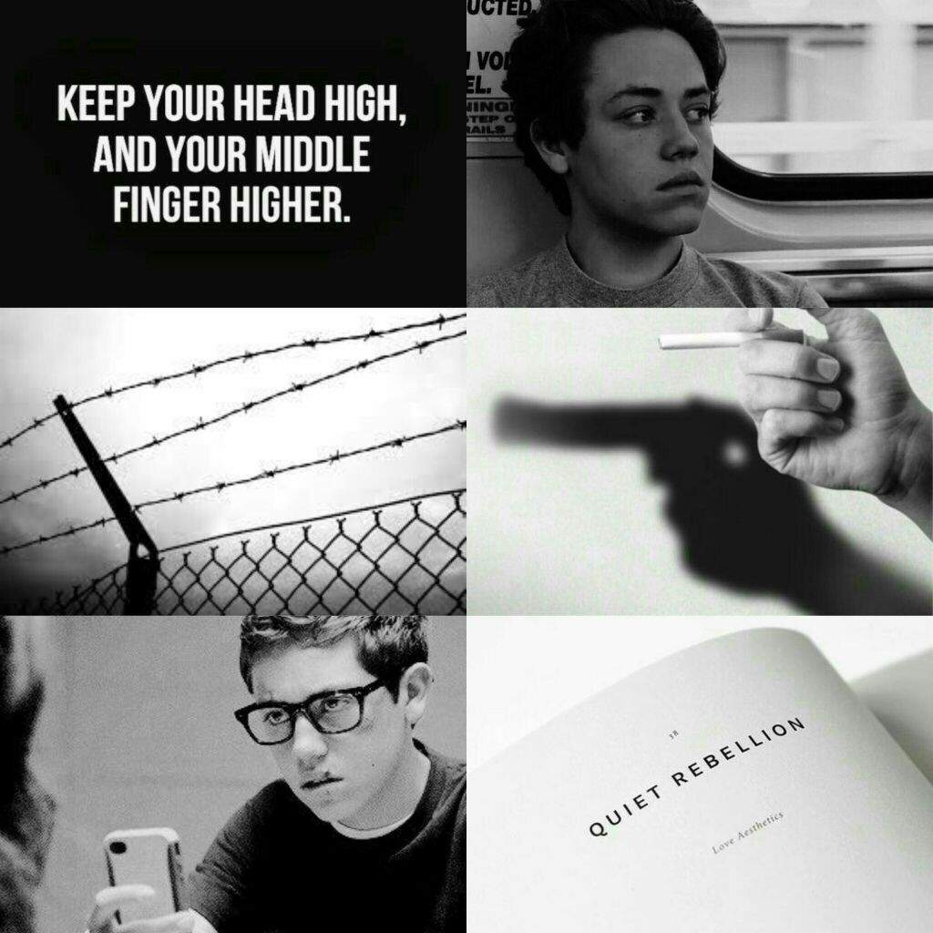 Image result for aesthetic carl gallagher