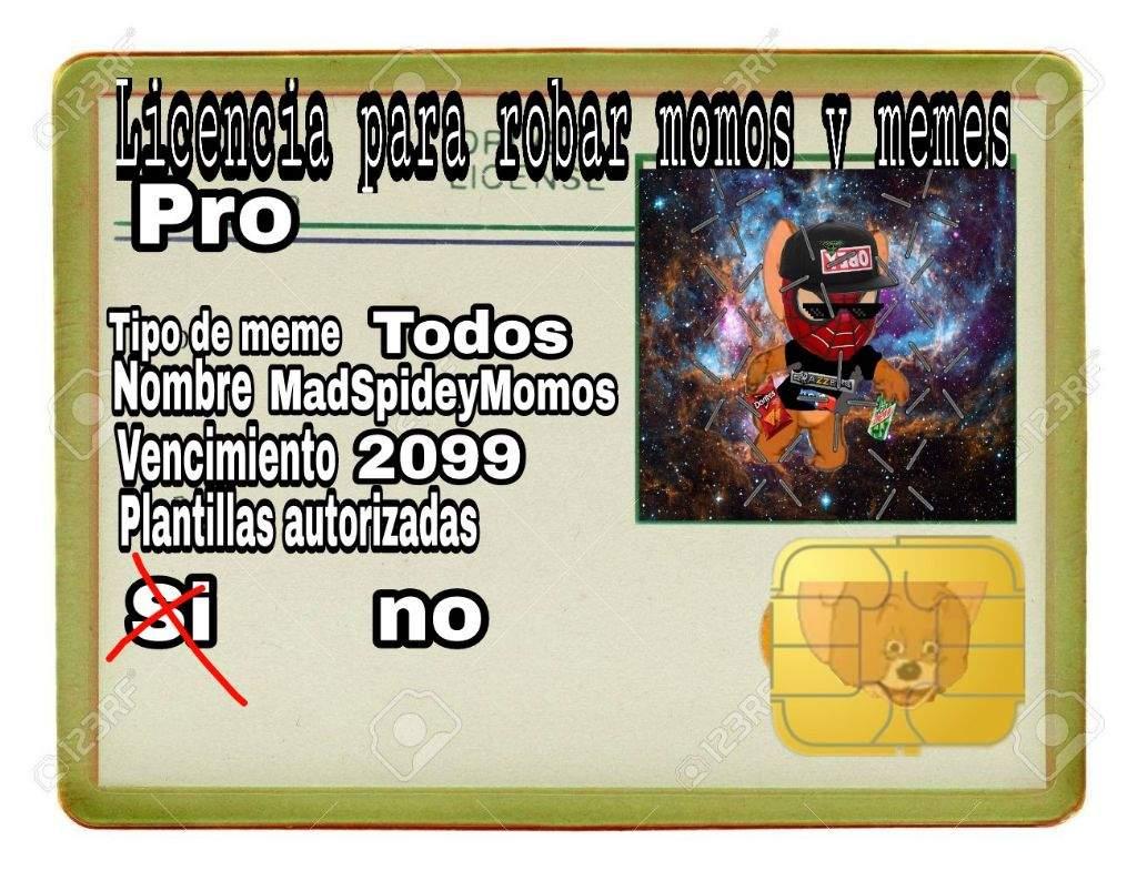 Nueva licencia e identificacion | ·Momazos· Amino