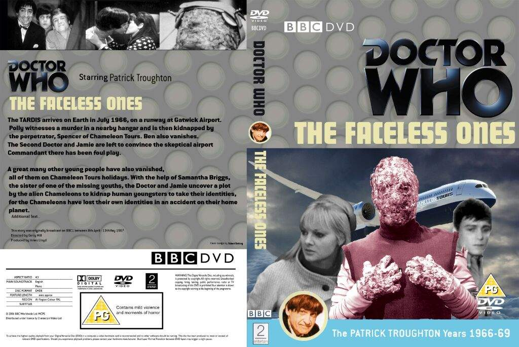 The Faceless Ones Custom Dvd Cover Doctor Who Amino