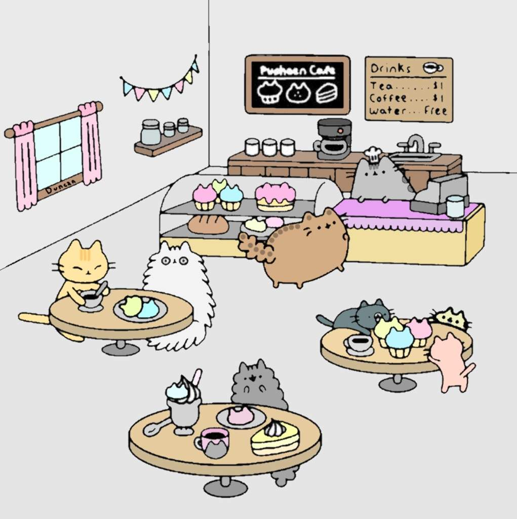 I Colored It Pusheen Coloring Page Pusheen The Cat