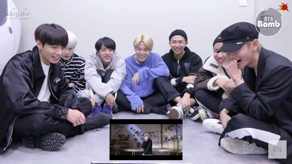 BTS Reaction To