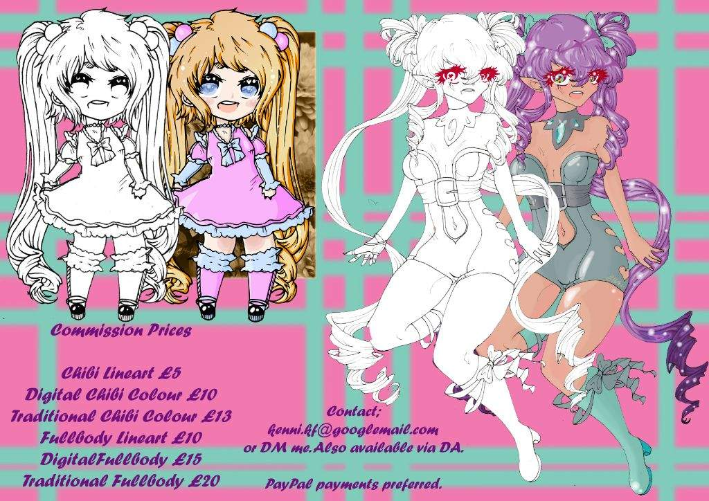 Tiny Artist S Commission Sheet Commissions Arts And Crafts Amino
