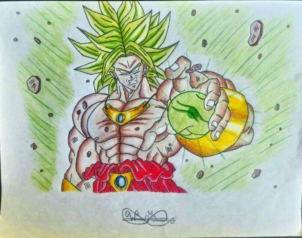 How To Draw Broly Tolg Art