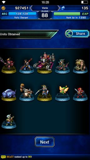 Perfect Chain without macros (android users only) | FFBE