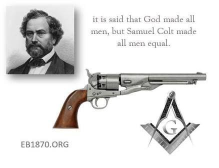 Samuel Colt é Um Caçador E Criador Do Colt Uma Arma Que