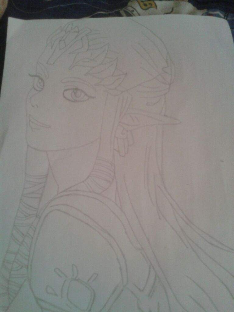 Dibujando A La Princesa Zelda Dibujarte Amino