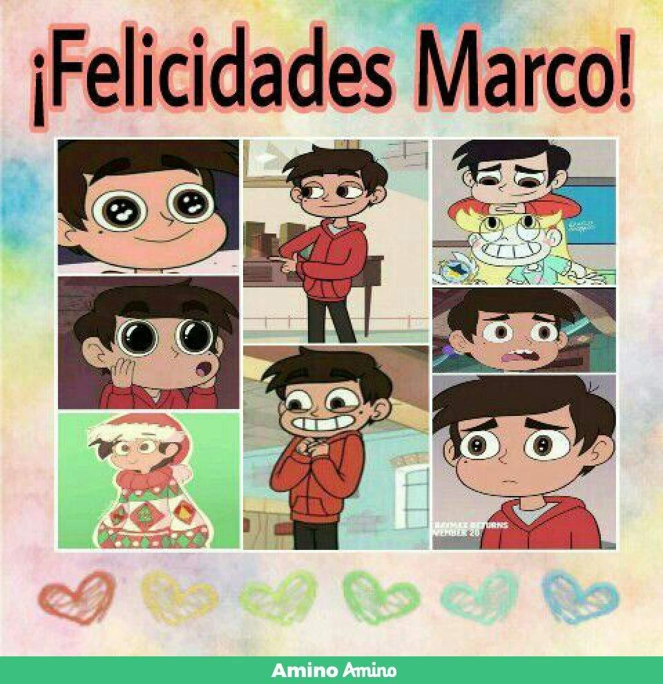 Feliz Cumple Marco!   Star vs. Las Fuerzas Del Mal Amino