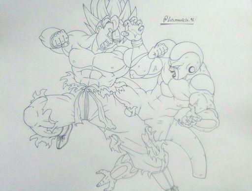 Ui Goku Vs Jiren Dragonballz Amino