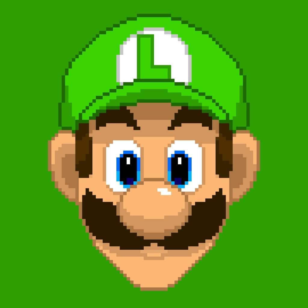 images?q=tbn:ANd9GcQh_l3eQ5xwiPy07kGEXjmjgmBKBRB7H2mRxCGhv1tFWg5c_mWT Pixel Art Luigi @koolgadgetz.com.info